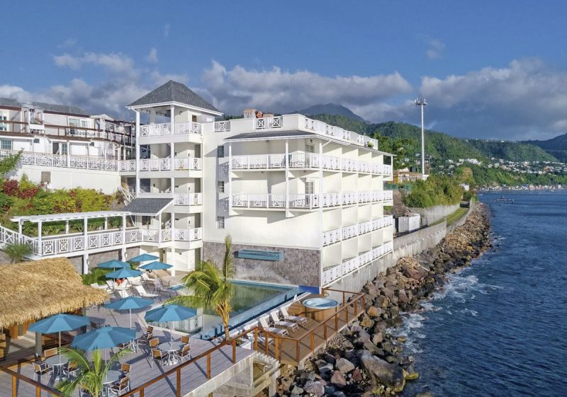 Hotel Fort Young Dominica
