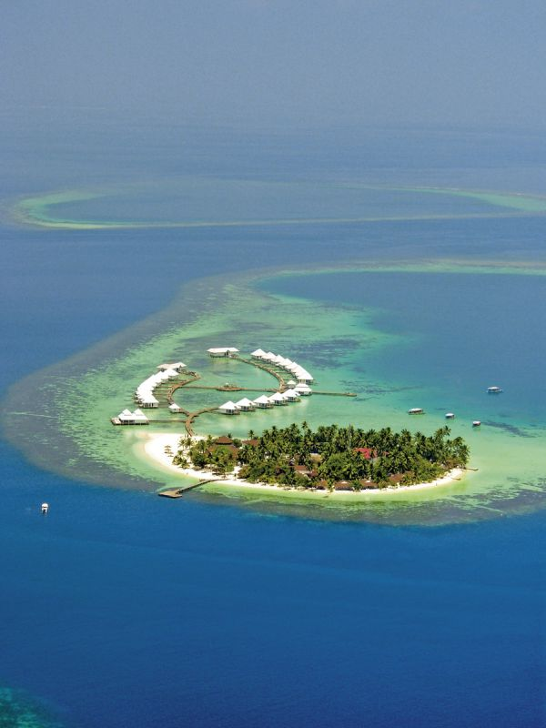 Hotel Diamonds Athuruga Beach & Water Villas Malediven