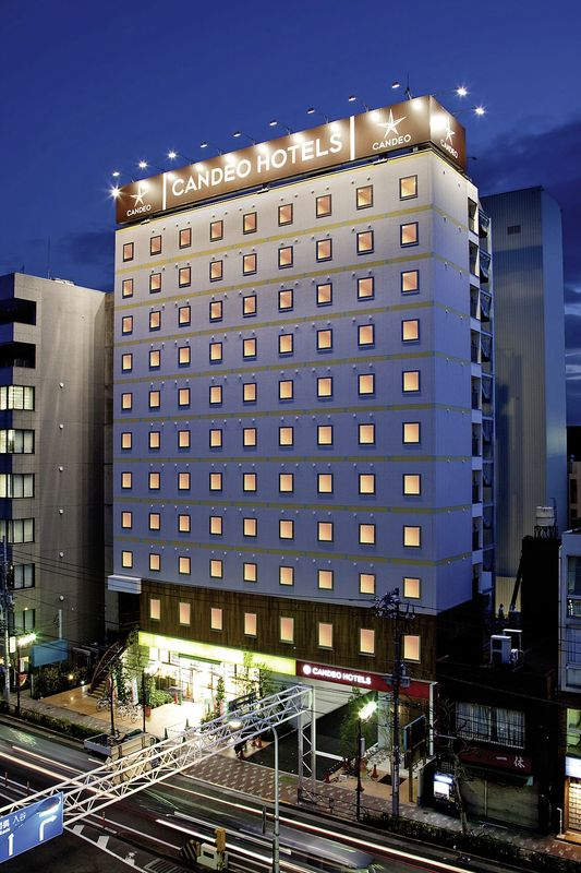 Hotel Candeo Hotels Ueno Park Japan