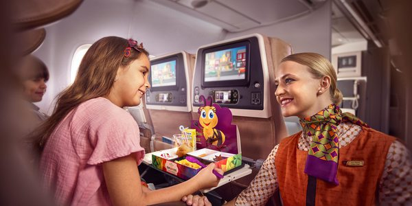 Etihad Airways Flying Nanny