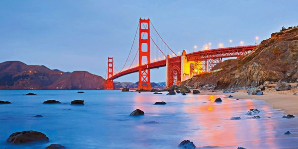 Hotel Kalifornien - Golden Gate Bridge