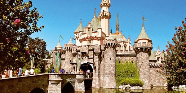 Disneyland Anaheim - Märchenschloss Sleeping Beauty Castle