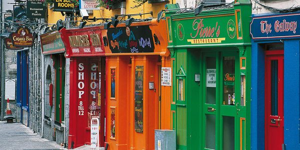 Traditionelle Pubs in Dublin