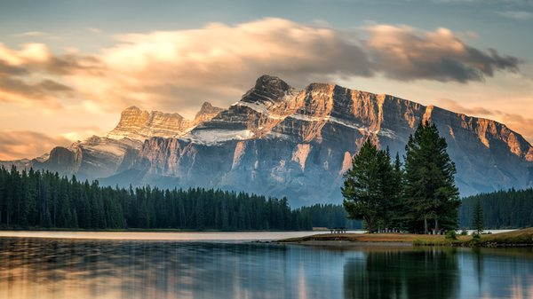 Mount Rundle bei Banff