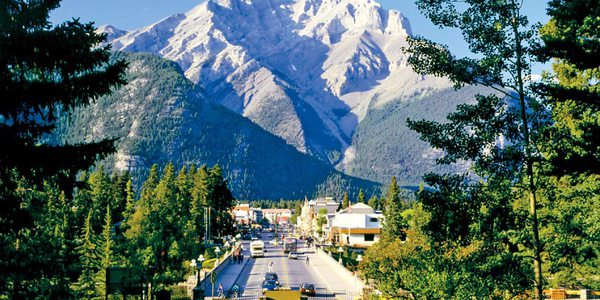 Der Banff Nationalpark in Kanada, Alberta