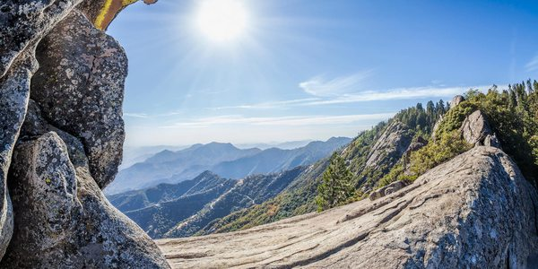 Moro Rock im Sequoia-Nationalpark