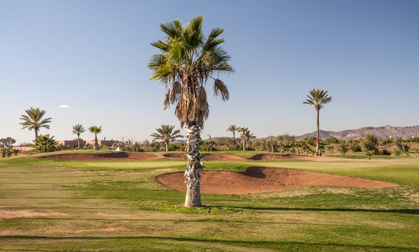Golfplatz in Marrakesch