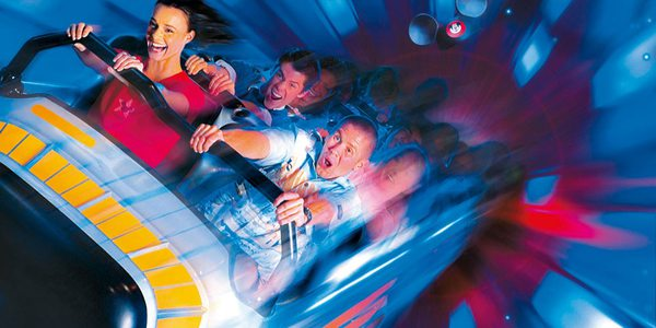 Disneyland Anaheim - Achterbahn Space Mountain