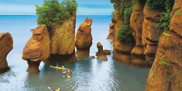 Die Bay of Fundy